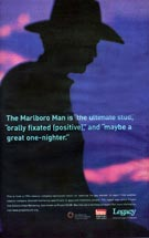 American Legacy Foundation - The Marlboro Man Is 'The Ultimate Stud'