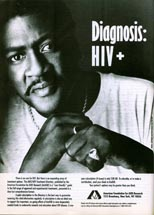 AmFAR - Diagnosis: HIV+