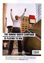 IBM - The Human Rights Campaign Is Playing To Win