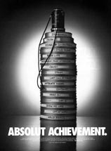 Absolut vodka - Absolut Achievement