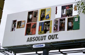 Absolut vodka - Absolut Out