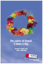 Delta Airlines - The Colors of Hawaii