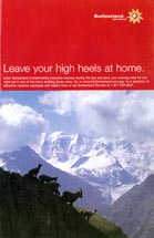 Switzerland - Leave Your High Heels At Home