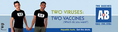 Gay/Lesbian health awareness - Two Viruses: Two Vaccines