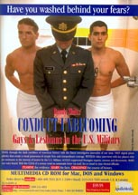 Conduct Unbecoming: Gays & Lesbians in the U.S. Military - Have You Washed Behind Your Fears?