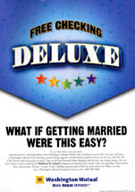 Washington Mutual/WaMu - What If Getting Married Were This Easy?