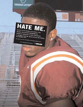 Gay issues awareness - Hate Me. (Football Player)