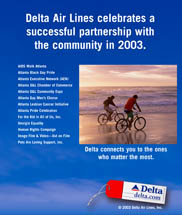 Delta Airlines - Successful Partnership with the Community