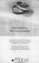Macy's - First Comes Love. Then Comes Marriage.