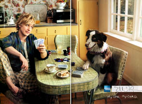 American Express - Ellen Playing Poker