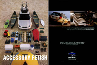Subaru of America - Accessory Fetish