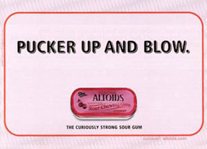 Altoids - Pucker Up and Blow
