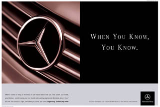 Mercedes-Benz - When You Know You Know