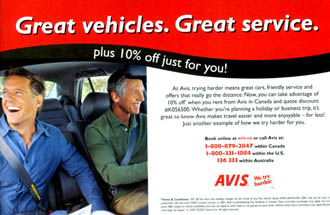 Avis Rent A Car - Great Vehicles. Great Service.