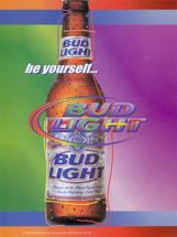 Bud Light - Rainbow Bottle