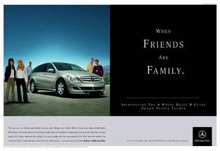 Mercedes-Benz - When Friends Are Family