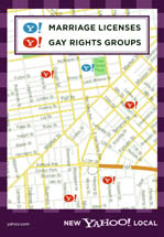 Yahoo! - Marriage Licenses, Gay Rights Groups
