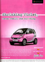 Smart - Shrinking Violet, Never Really Was Our Thing