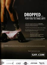 Gay.com - Dropped... For You To Take Off!