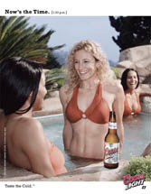 Coors Light - Now's the Time [1:33 p.m.]-  Hot Tub