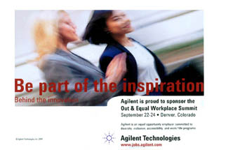 Agilent - Be Part of the Inspiration
