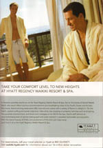 Hyatt Resorts - Take Your Comfort Level To New Heights...