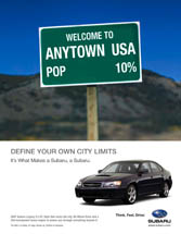Subaru of America - Welcome to Anytown USA