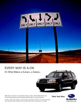 Subaru of America - Every Way Is A-Ok