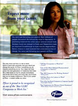 Print Ad Library: Pfizer - Pfizer - Expect More From Your Career
