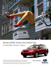Subaru of America - Being More Than You Expected