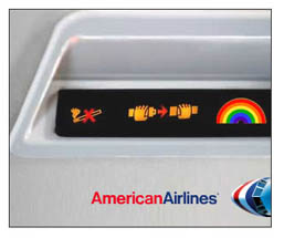 American Airlines - Rainbow