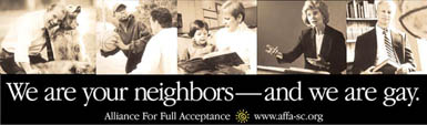Gay issues awareness - We Are Your Neighbors, And We Are Gay