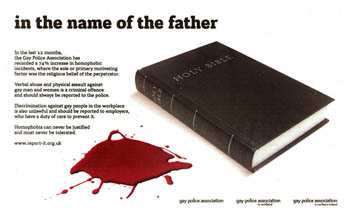 Gay issues awareness - In The Name Of The Father