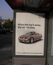 BMW - When the Top's Away, the Car Will Play