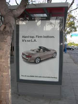 BMW - Hard Top. Firm Bottom. It's so L.A.