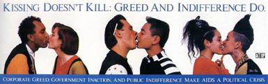 Gay/Lesbian health awareness - Kissing Doesn't Kill