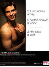 AIDS/HIV Awareness - Stay Healthy. Stay Negative.