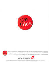 Virgin Atlantic - Gay Pride