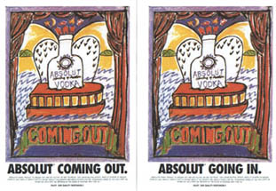 Absolut vodka - Absolut Coming Out/Going In