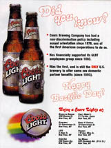 Coors Light - Did You Know?
