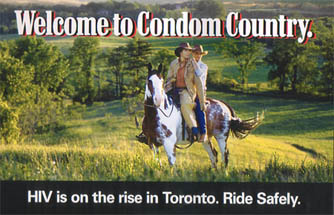 Gay/Lesbian health awareness - Welcome to Condom Country
