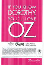 Above and Beyond Tours - If You Know Dorothy You'll Love Oz