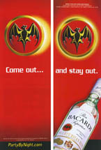 Bacardi - Come Out...And Stay Out