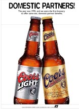 Coors Light - Domestic Partners
