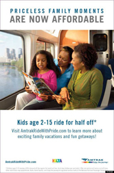 Amtrak - Priceless Family Moments Are Now Affordable (female)