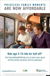 Amtrak - Priceless Family Moments Are Now Affordable (male)