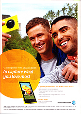 AT&T - To capture what you love most