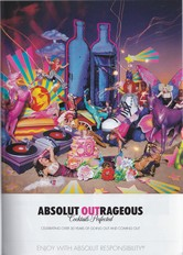 Absolut vodka - Absolut Outrageous