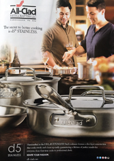 All-Clad - The secret to better cooking is d5 stainless.