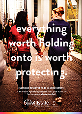 Allstate - Everything worth holding onto is worth protecting